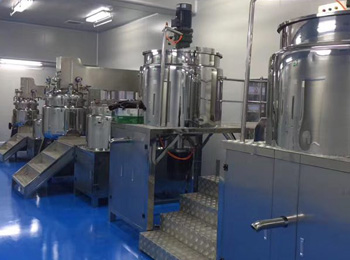 Our Emuslifying machine,Ro water treatment ,conveyor belt and so on settled in XXX Biotechnology Co., Ltd.