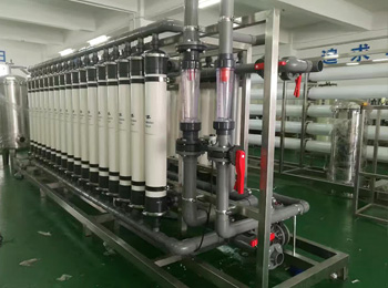 Our Ro water treatment  settled in Guangxi XXX Water Co., Ltd.