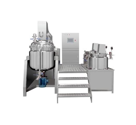 JF-A Vacuum Emulsifying Mixer (Hydraulic Lifting)
