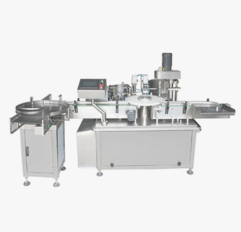 JF Automatic filling and capping machine