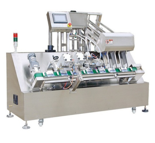 JF-2T Double head mask filling and sealing machine (Automatic)