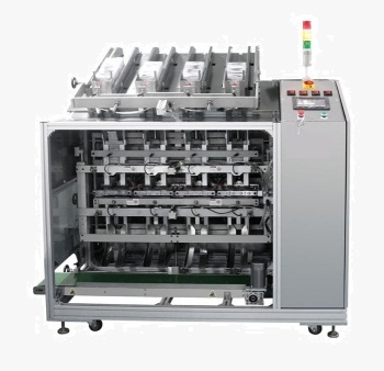 JF-4T Four head mask filling and sealing machine (Automatic)